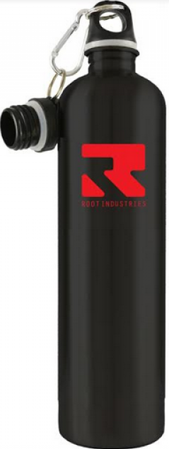 An image of Root Industries Thermal Water Bottle - Black