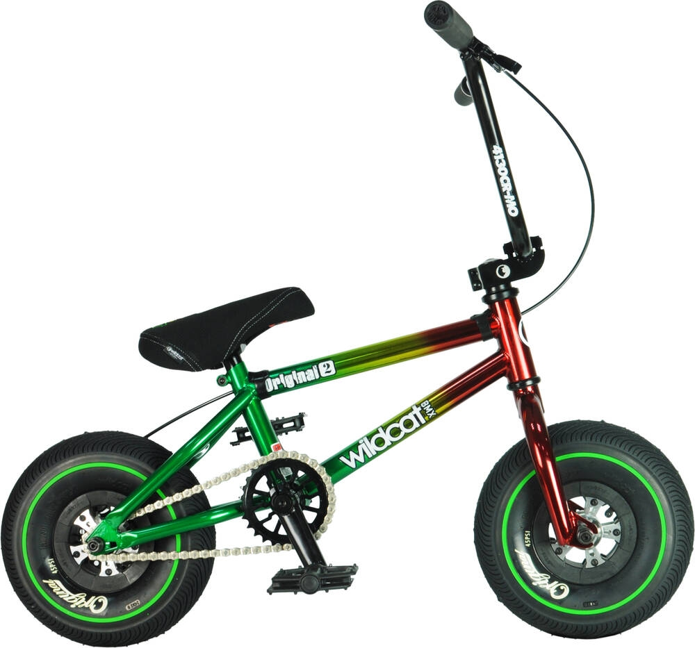 An image of Wildcat Jamaica Original 2C Mini BMX Bike - Red
