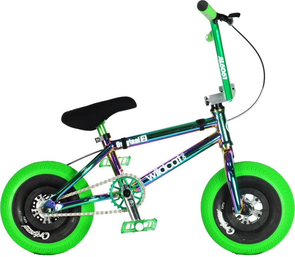 An image of Wildcat Joker Original 2C Mini BMX Bike - Green