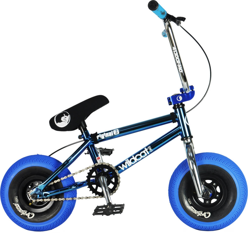 An image of Wildcat Royal Original 2A Mini BMX Bike - Blue