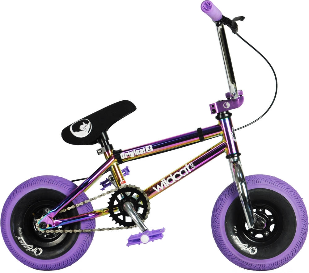 An image of Wildcat Royal Original 2A Mini BMX Bike - Purple