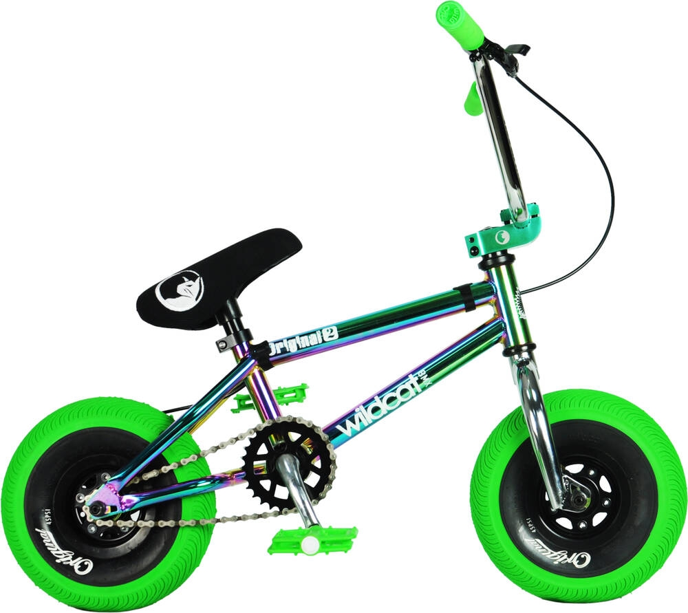 An image of Wildcat Royal Original 2A Mini BMX Bike - Green