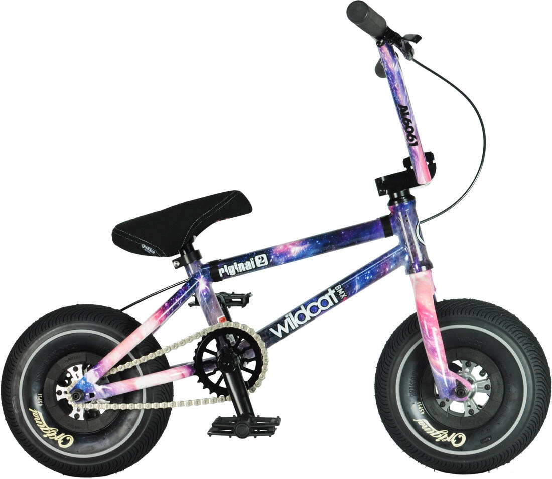 An image of Wildcat Space Original 2C Mini BMX Bike - Purple