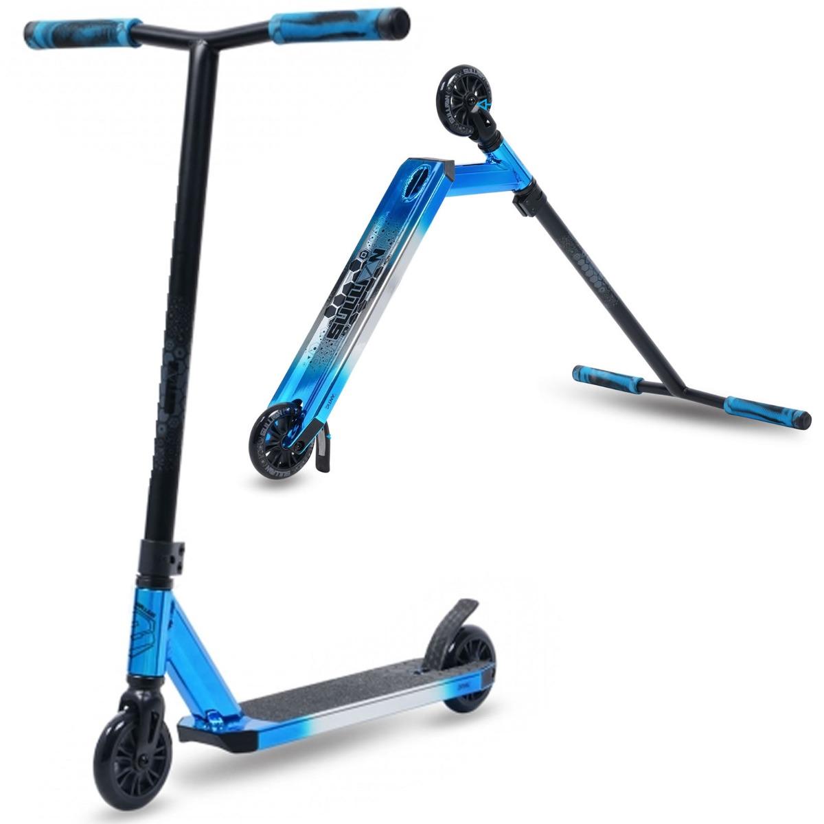 An image of SU Sullivan Antic Stunt Scooter - Blue Chrome