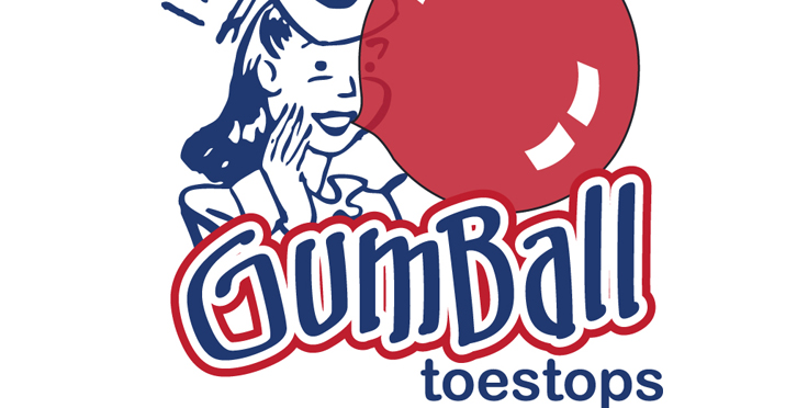 Gumball Toe Stoppers